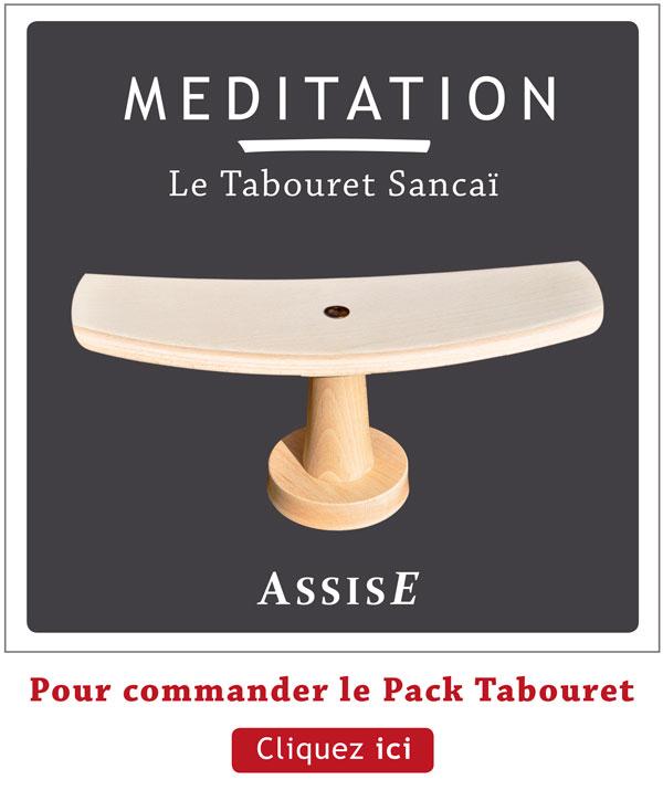 Kit tabouret de meditation -  pour assise